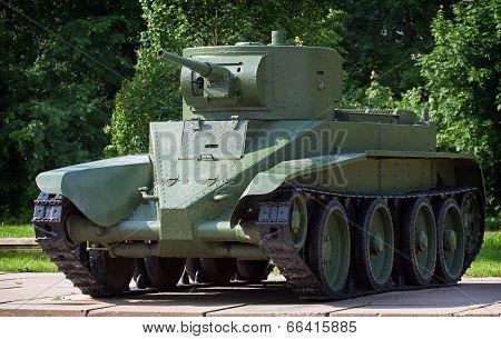 Light Cavalry Tank Bt-5