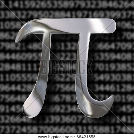 Pi Mathematics Symbol