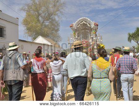 Pilgrims Walking