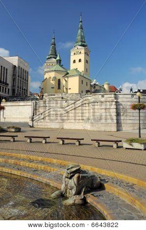 Hlinka Square