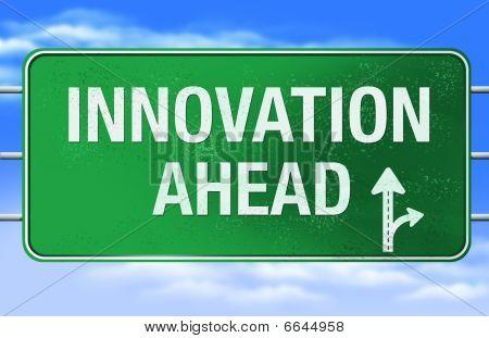 Innovation Road Sign