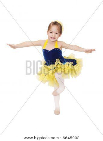 Pequeña bailarina de Ballet
