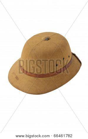 old Pith helmet