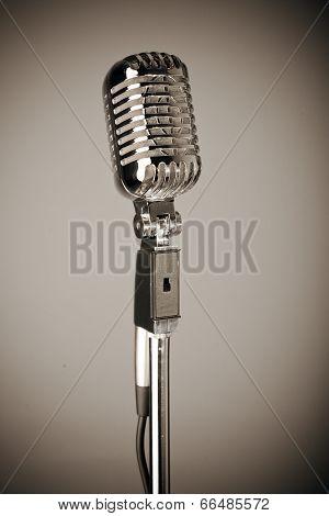 Classic 1950's Microphone