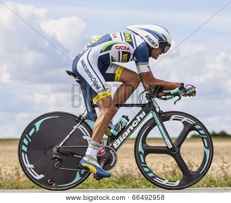 The Cyclist Rafael Valls Ferri