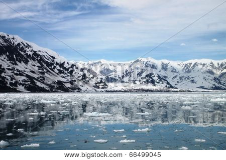 Approaching Hubbard Glacier