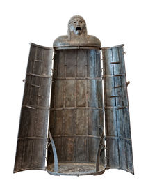 Iron Maiden, medieval torture device Cutout