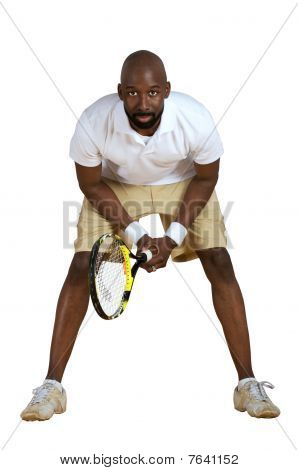 Ready To Play Tennis