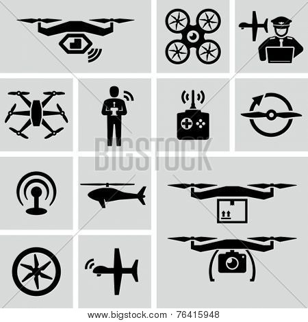 Drone icons