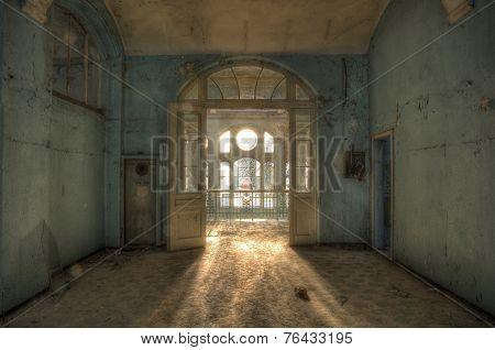Abandoned Hospital In Beelitz