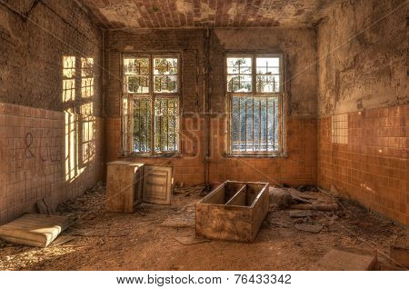Old Deserted Dirty Room