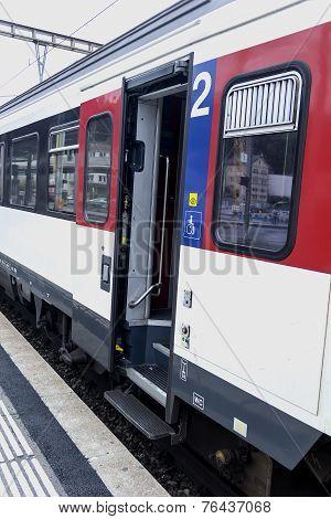 The Train Between European Cities