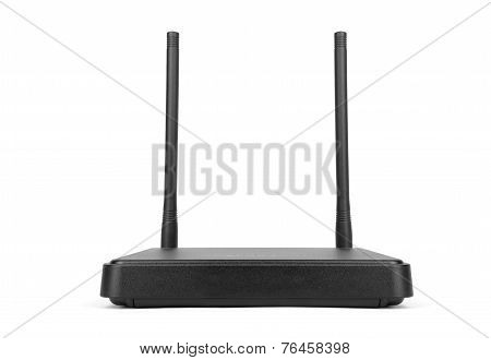 Wireless Cdma Router Isolated On White