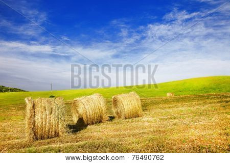 pictorial rural landscapes of Tuscany, Italy