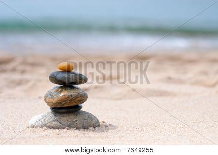 Balanced Zen Rocks