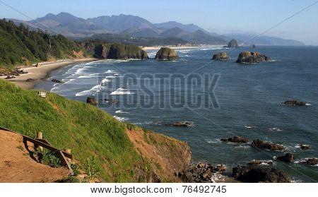 Cannon Beach, north Oregon coast