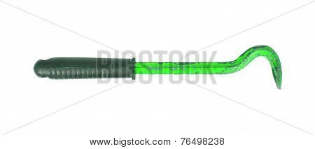 Old Green Crowbar