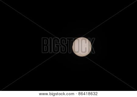 Partial solar eclipse taken in Scotland