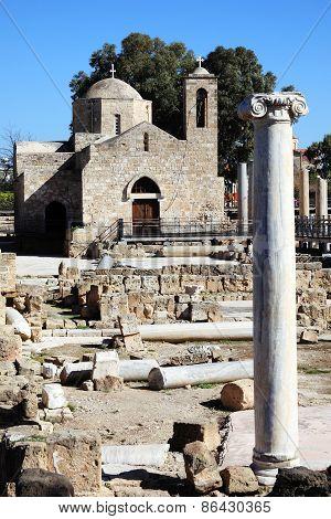 Agia Kyriaki church Paphos Cyprus