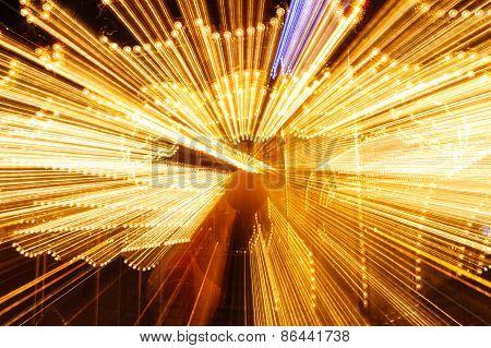 The bright lights of night rides