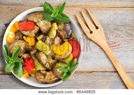 Grilled And Sauted Vegetables