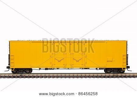 Yellow Boxcar