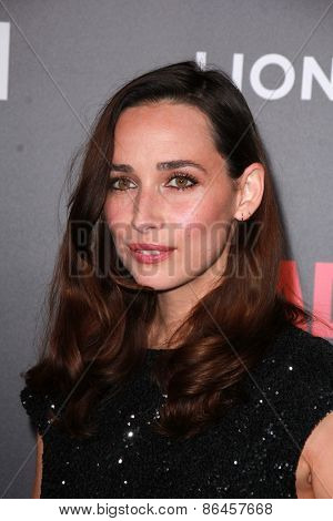 LOS ANGELES - MAR 25:  Rebecca Dayan at the Mad Men Black & Red Gala at the Dorthy Chandler Pavillion on March 25, 2015 in Los Angeles, CA