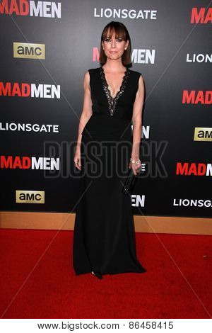 LOS ANGELES - MAR 25:  Julie Ann Emery at the Mad Men Black & Red Gala at the Dorthy Chandler Pavillion on March 25, 2015 in Los Angeles, CA