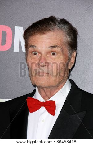 LOS ANGELES - MAR 25:  Fred Willard_ at the Mad Men Black & Red Gala at the Dorthy Chandler Pavillion on March 25, 2015 in Los Angeles, CA
