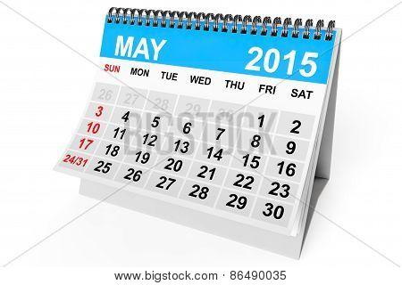 Calendar May 2015