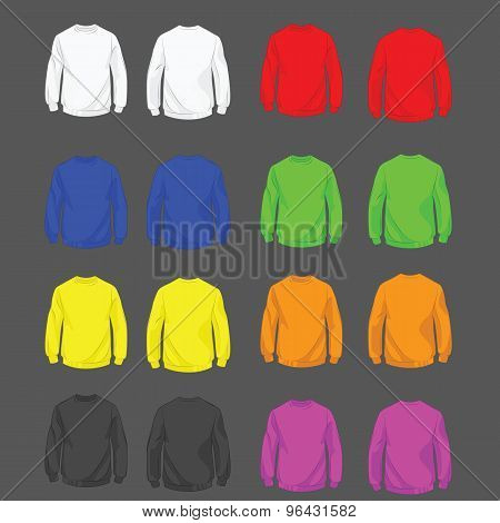 Set of sweatshirt