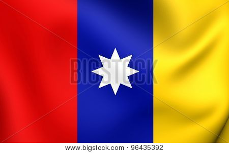 Merchant And Civil Flag Of The Republic Of New Granada, 1831-1857, And The Granadine Confederation,