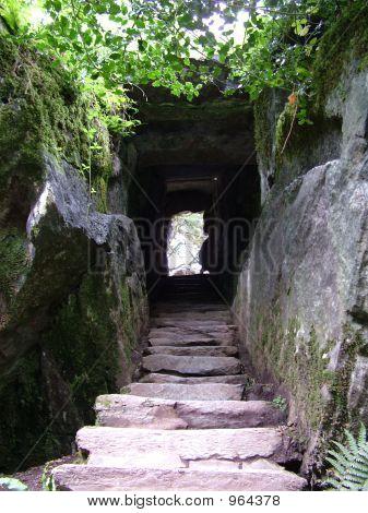 Steps Passage Through Rock Blarney