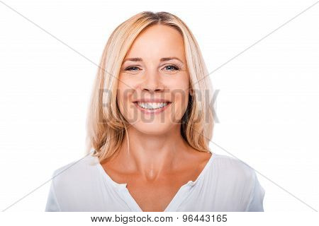 Cheerful Mature Woman.