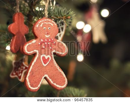 Gingerbread Man Christmas Market