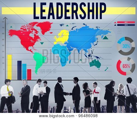 Leadership Leader Authoritarian Manager Boss Concept