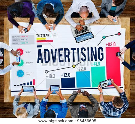 Advertising Marketing Campaign Promotion Branding Concept poster