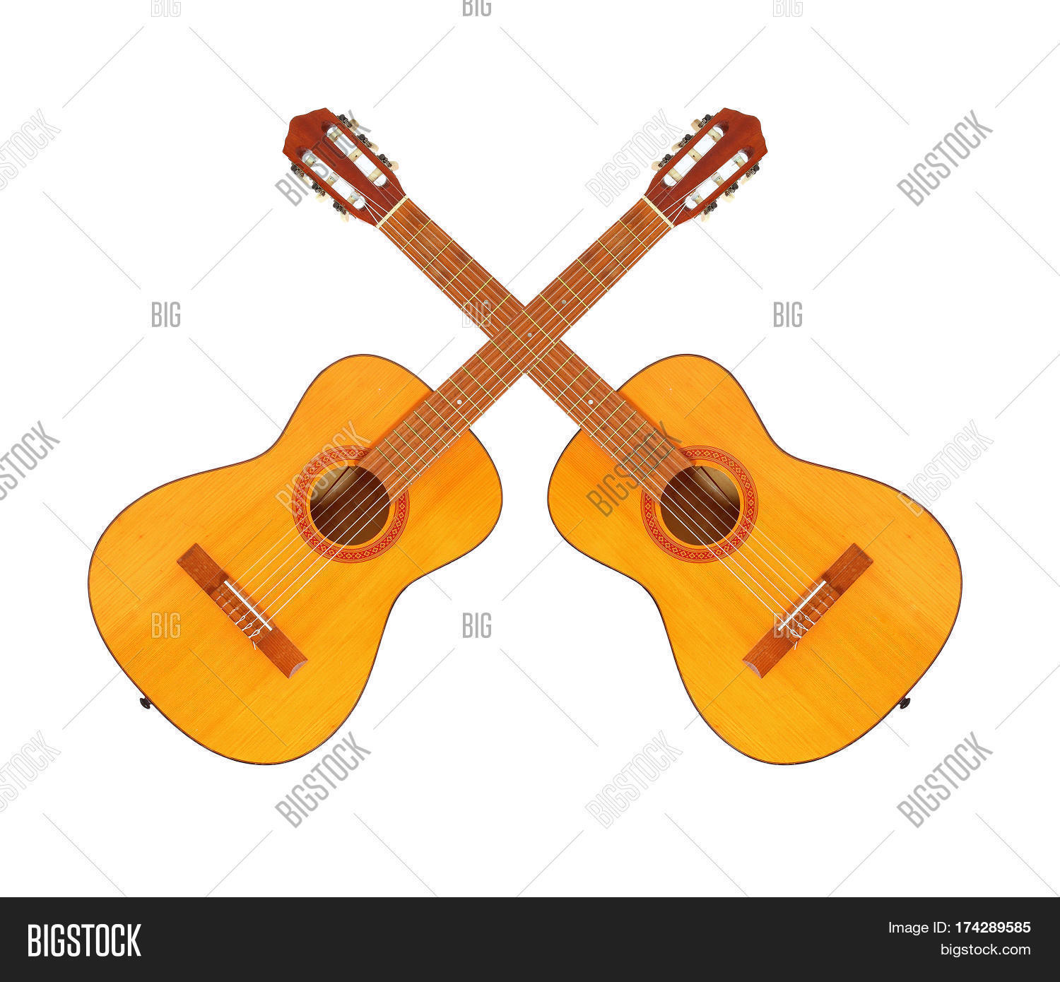 Two Crossed Acoustic Image & Photo (Free Trial) | Bigstock