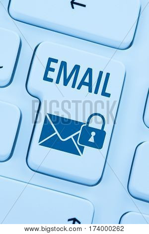 Sending Encrypted E-mail Email Protection Secure Mail Internet Letter Online Web