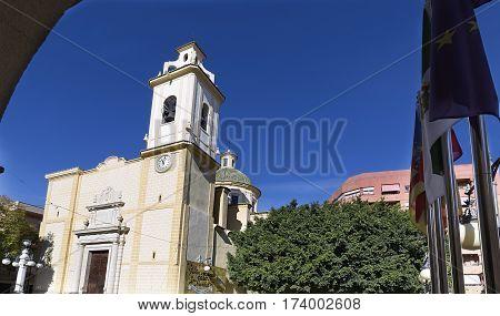 View Of The Parish San Vicente Ferrer