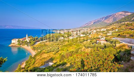 Bol On Brac Island Panoramic View