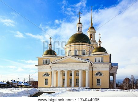 The Old Believers' church in Nevyansk, Russia