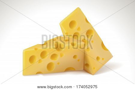 Cheese Element Illustration