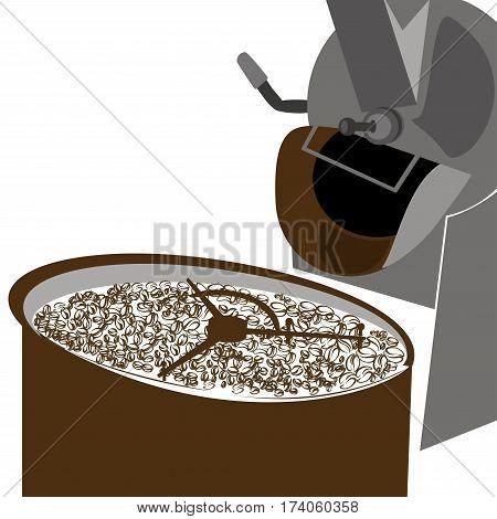 coffee roaster , coffee icon set ,