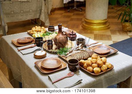 Belorussian cuisine, tasty and beautifully designed food