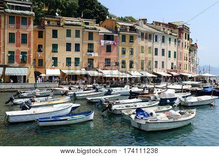 The Beautiful Village Of Portofino