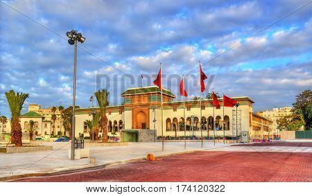 Palace of Justice on Mohammed V Square in Casablanca - Morocco