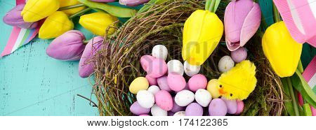 Happy Easter Social Media Banner