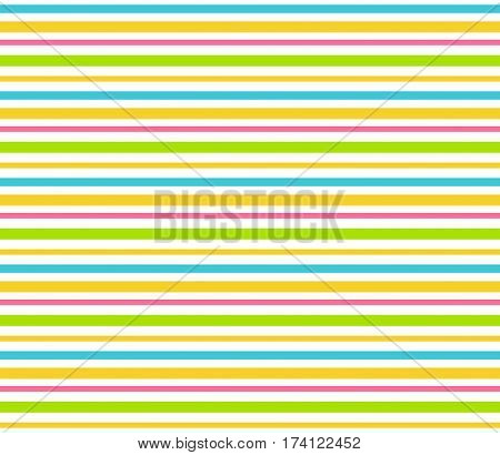Bright fun multicolor abstract lines seamless pattern