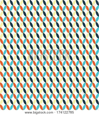 Seamless multicolor bright fun vertical abstract pattern